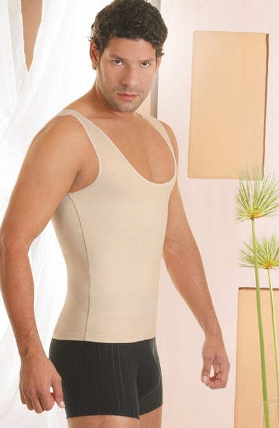 Co'Coon Men's Thermal Tank Body Shaper