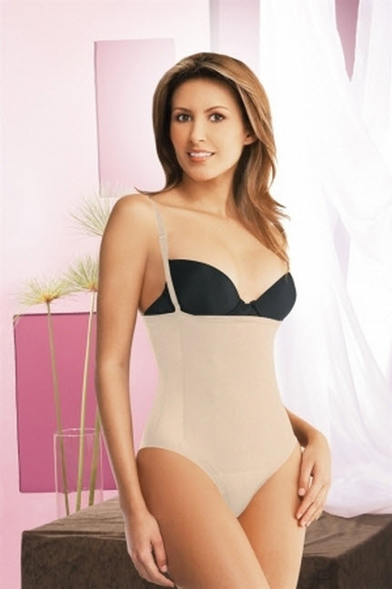 Co'Coon Energetic Strapless Body Shaper Thong Style-OPENED