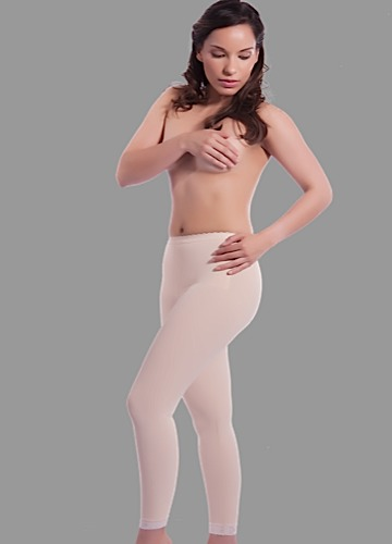 Low Waist Abdominal Ankle Length Compression Girdle- Stage 2