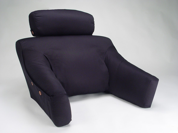 BedLounge Back Support Pillow w/Cover