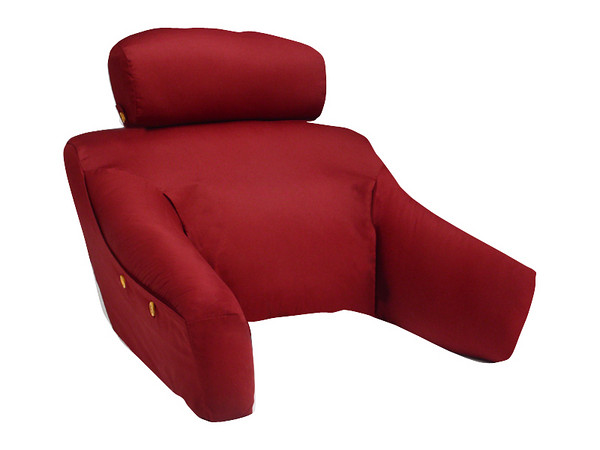 Bedlounge back support pillow w cover bedlounge for Bed lounge pillow walmart