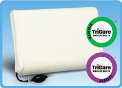 Attractive Core Products Memory Air Adjustable Pillow W/Hand Pump