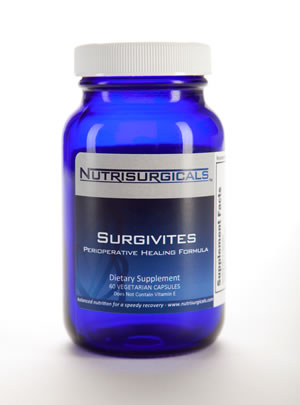 Nutrisurgicals Surgivites Pre & Post Operative Multi vitamin