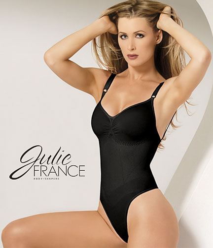 Julie France-Euroskins Thong Body Shaper