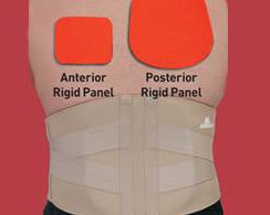 AP Rigid Lumbar Support XXX-Large