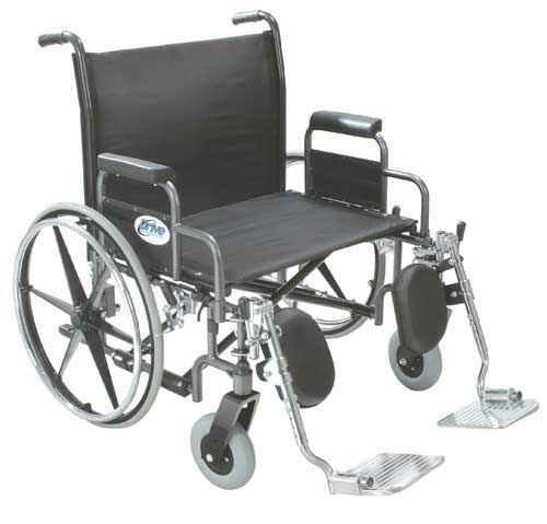 Bariatric Wheelchair Rem Full Arms  26  Wide