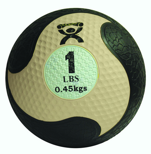Cando Rubber Medicine Ball 7 Lbs  9  Diameter Green