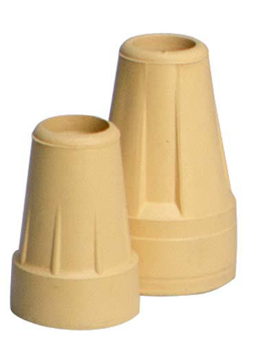 Crutch Tips  Standard  Pair Grey--for 7/8  Shaft