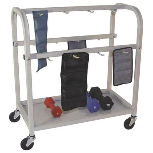 Cuff Weight / Dumbbell Wagon 33 W x 14 D  x 29 H