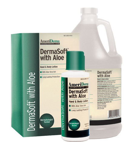 DermaSoft w/Aloe(8 oz) Case/48