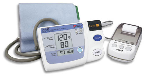 Digital Blood Pressure W/Memory And Printer