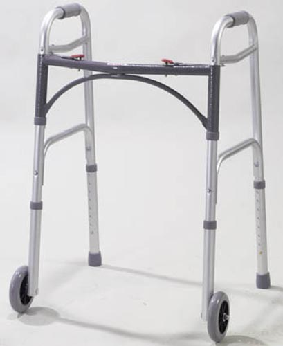 Easy-Release 2 Button Walker Adult W/5  Wheels  (Drive)