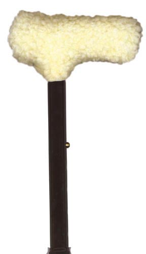 Fleece Cane Grip T-Handle
