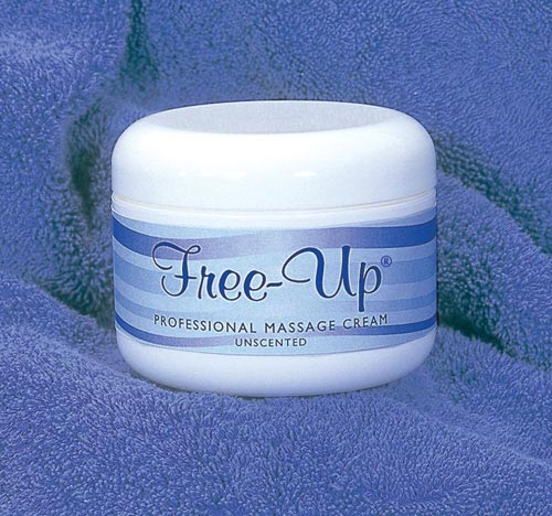Free-Up Massage Cream 8 Oz Unscented