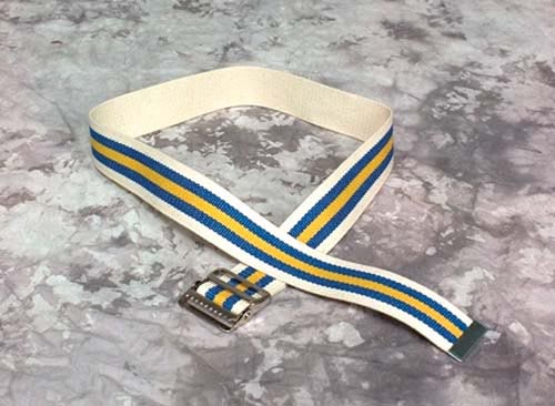 Gait Belt W/ Buckle-48  (To 44  Waist)