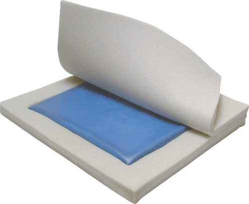 Gel/Foam Wheelchair Cushion 18 x18 x3