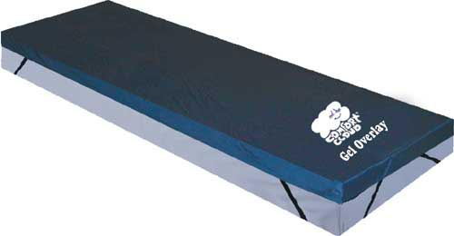 Gel Mattress Overlay Bariatric 76 x42 x3.5   (Drive)