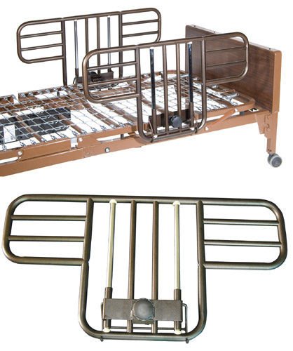 Half Length Hospital Bed Rails (Pair)