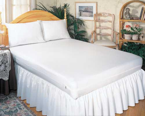 Mattress Cover Allergy Relief Twin-size 39 x75 x9  Zippered