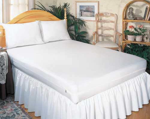 Mattress Protector-Zippered- Twin 39 x75 x9