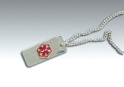 Medical Identification Jewelry-Necklace- Epilepsy