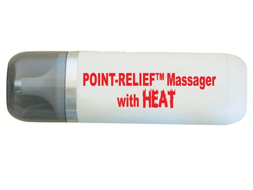 Mini Massager w/Heat Trigger Pin-Point w/Attachments