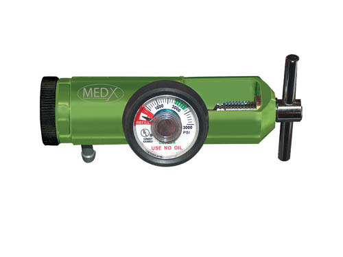 Mini-Oxygen Regulator 0-15 LPM (Mfgr #18302GM)