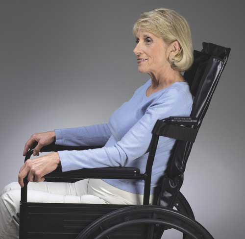 Reclining Wheelchair Backrest 16 W x 33 L