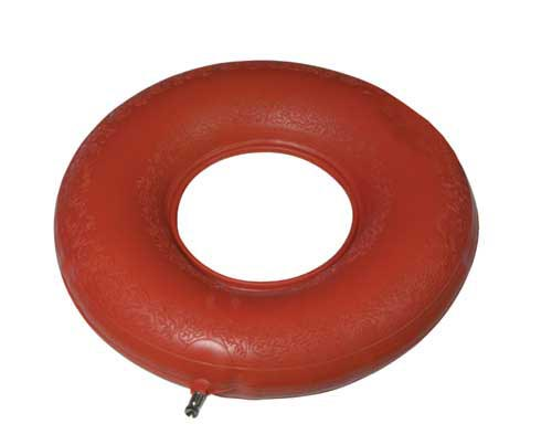 Red Rubber Inflatable Ring 15 /37.5cm  Retail Box