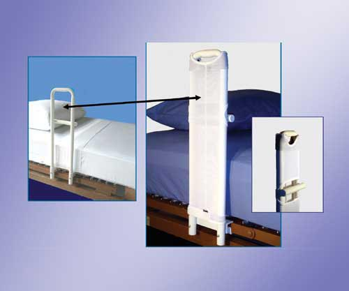 SafetySure Safeguard Cover for MTS Hosp. Style Bed Rails