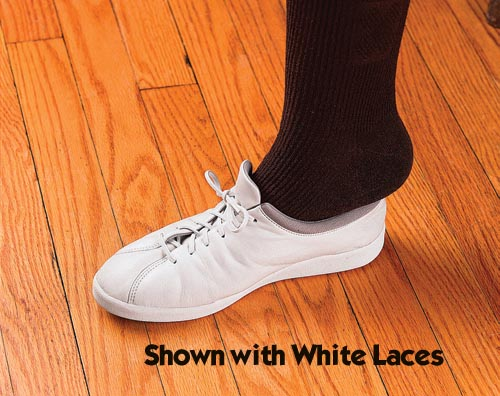 Shoe Laces Elastic Black 30  Pk/3 pr.