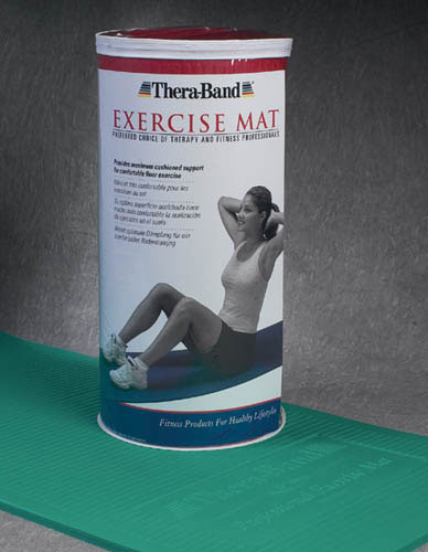 TheraBand Exercise Mat Blue 24 x75 x1