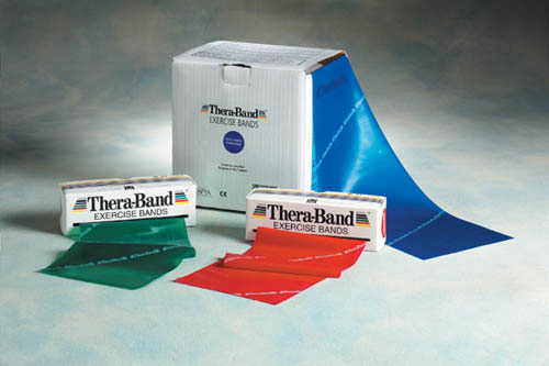 Theraband Light Bands Set Yellow red green(Mfgr#20403)