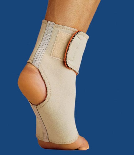 Thermoskin Ankle Wrap Large Beige