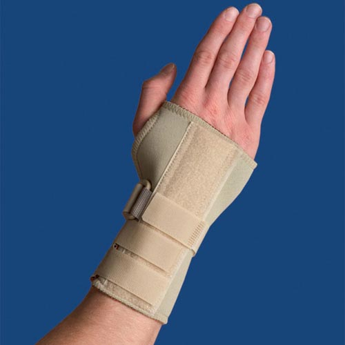 Thermoskin Carpal Tunnel Brace With Dorsal Stay Medium Left
