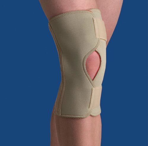 Thermoskin Open Knee Wrap Stabilizer  Beige  Large