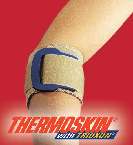 Thermoskin Tennis Elbow w/Pad Beige  Small