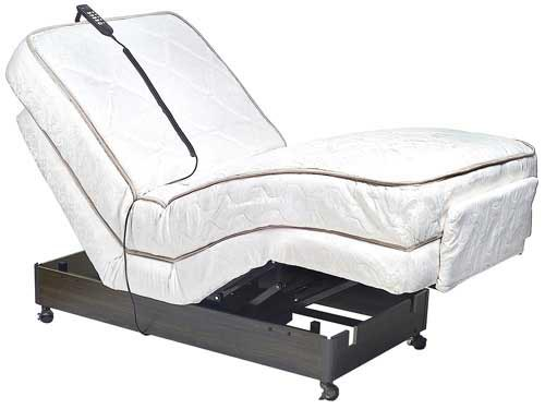 Ultimate Luxury Adjustable Electric Bed Full w/ Massage