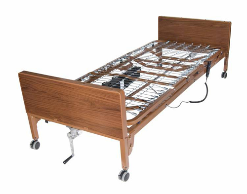 Ultra-Lite Plus Semi-Electric Bed w/Full Length Side Rails