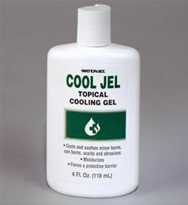 Water Jel Cool Jel  4 oz. Squeeze Bottle