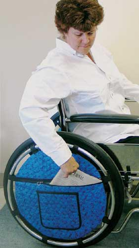 Wheel Pouch for Wheelchair