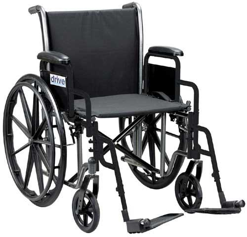 Wheelchair 18  SEL w/Detachable Desk Arms