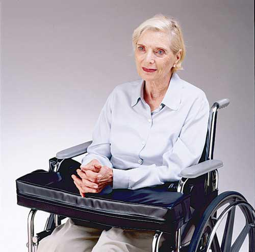 Wheelchair Lap Cushion - Half Arm (for 18  Wheelchair)