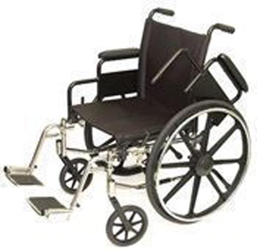 Wheelchair Light-Wt. 20  Dual Axle-Hemi-w/SDF