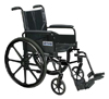 20  Cirrus IV  Flip Back Full Arms Swing Away Wheelchair