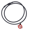 AllerMates Necklace(Cord)Black for AllerMates Dog Tags