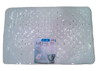 Bathtub Safety Mat Medium White  17.5  x 27.75
