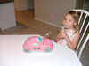 Checker Car Nebulizer Pink