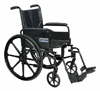 Cirrus Wheelchair 18  Flip Back Arms Elev Legrest