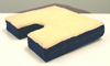 Coccyx Gel Seat Cushion w/ Fleece Top  18 Wx16 D x 3